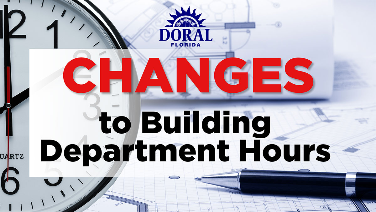 Changes to Building Department Hours