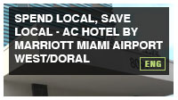 Spend Local, Save Local-AC Hotel by Marriott Miami Airport
