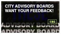 City Advisory Boards want your feedback!