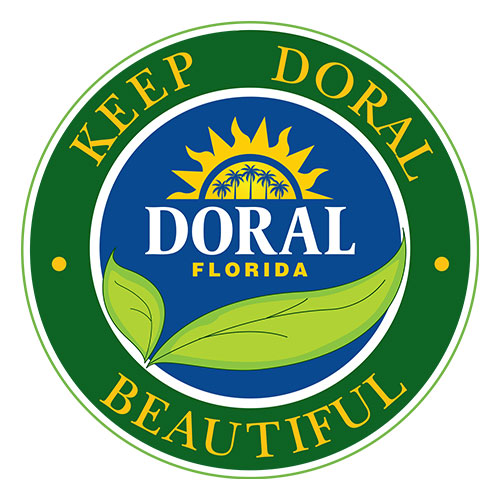 """Florida General Counsel, P.A. joins the City's Adopt-a-Street Program  to help """"Keep Doral Beautiful""""!"""