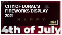 City of Doral's Fireworks Display 2021
