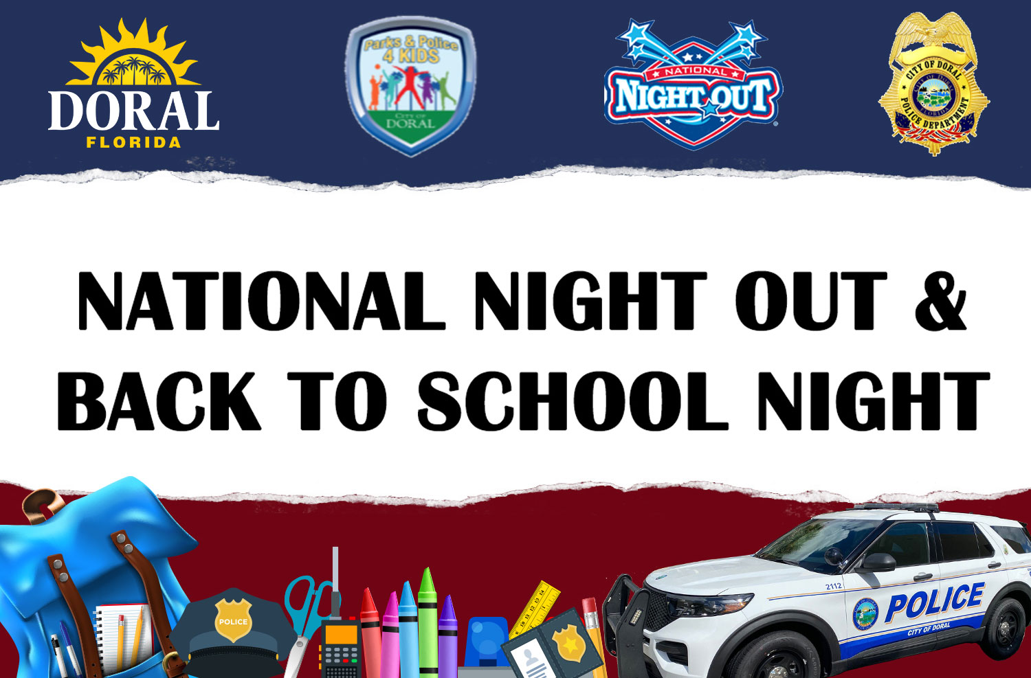 National Night Out & Back to School Night