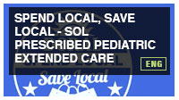 Spend Local, Save Local - SOL Prescribed Pediatric Extended Care