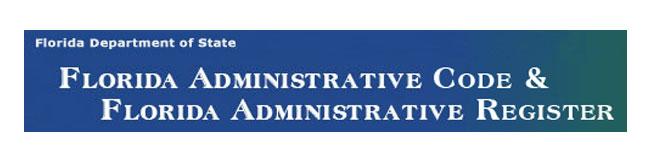Florida Administrative Code Search