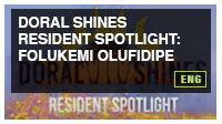 DORAL SHINES Resident Spotlight: Folukemi Olufidipe