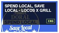 Spend Local, Save Local - Locos X Grill