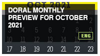 Doral Monthly Preview for October 2021