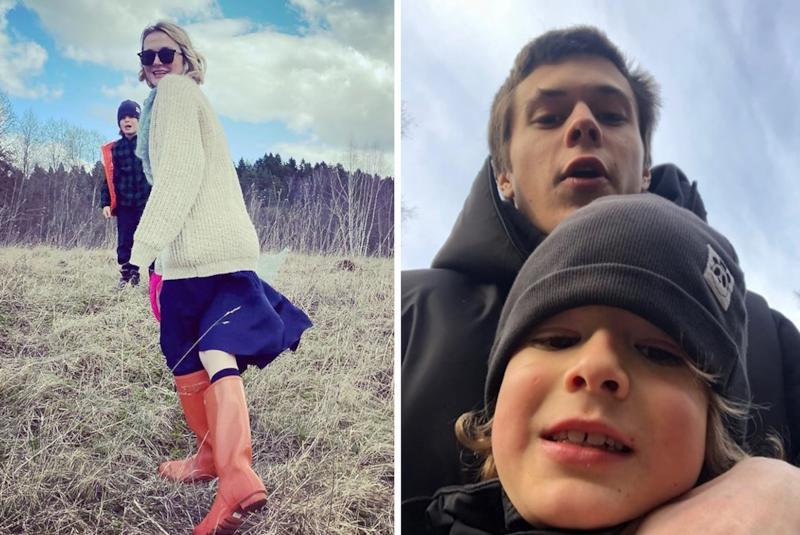 Надежда Михалкова перестала скрывать сына