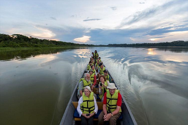 Anakonda Amazon's 4-Day Itinerary Day One - Skiff Ride.