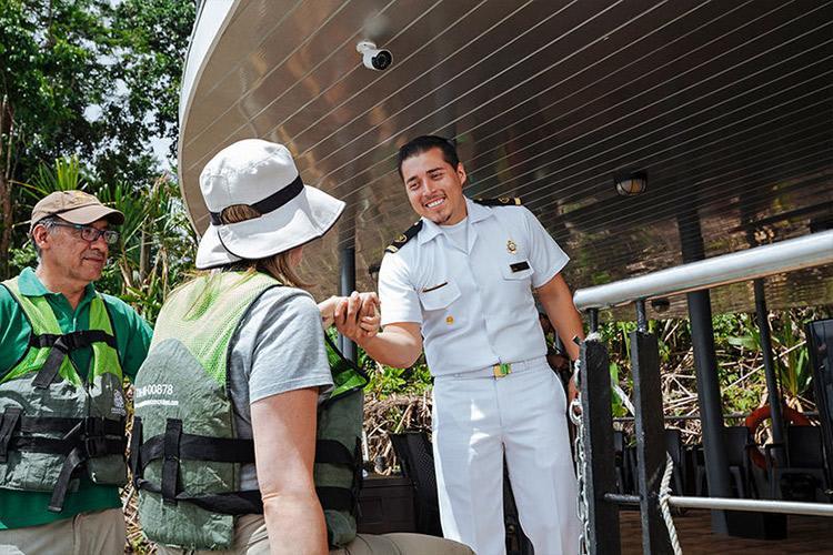 Anakonda Amazon's 5-Day Itinerary Day One - Embarkation.