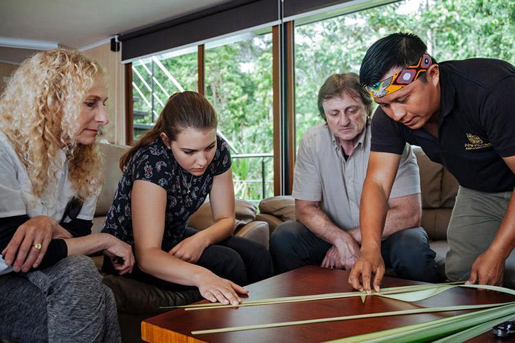 Anakonda Amazon's 8-Day Itinerary Day Three - Onboard Activities.