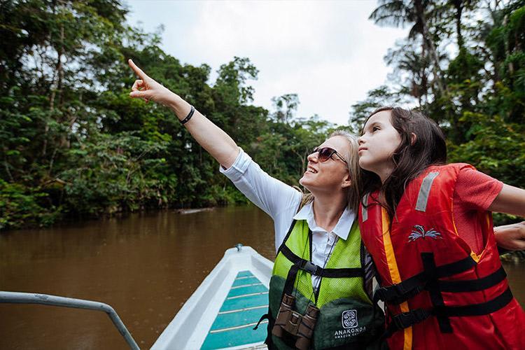 Anakonda Amazon's 8-Day Itinerary Day Five - Spotting Wildlife.