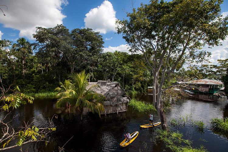 Delfin I Amazon's 5-Day Itinerary Day Three - Kayaking Peru's Amazon.