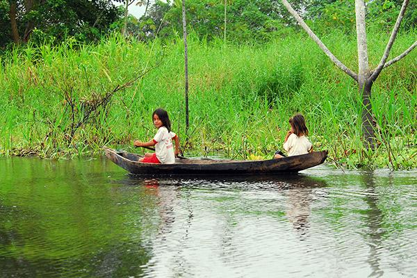 Aria Amazon's 8-Day Itinerary Day Three - Village Visit.