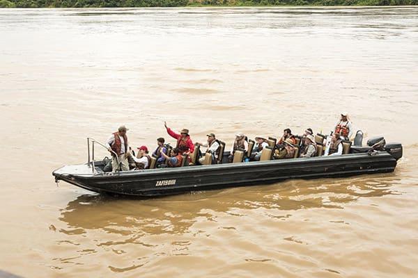 Zafiro's 8-Day Itinerary Day One - Embarkation.