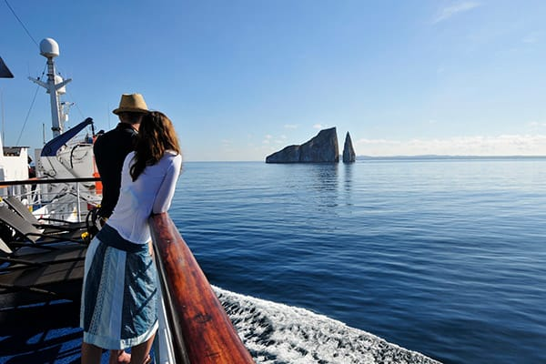 Santa Cruz II's 5-Day Western Itinerary Day Two - Galapagos Scenery.
