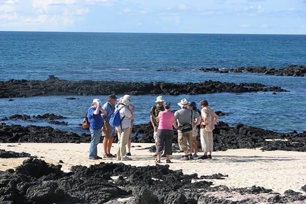 Santa Cruz II's 5-Day Western Itinerary Day Four - Exploring the Galapagos Islands.