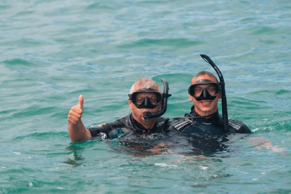 Infinity's 8-Day Itinerary A Day Three - Snorkelling Excursion.