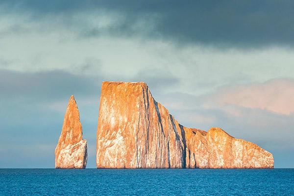 Calipso's 8-Day Naturalist Itinerary Day Two - Pinnacle Rock at Bartolome.