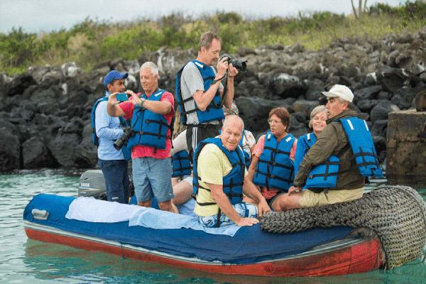 Calipso's 8-Day Naturalist Itinerary Day Six - Panga Ride Excursion.