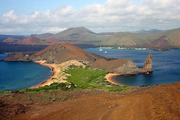 Cormorant I's 4-Day Itinerary Day Three - Galapagos Islands Landscape.