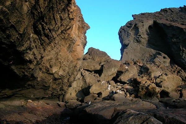 Camila's 5-Day Itinerary Day One - Bartolome Island.