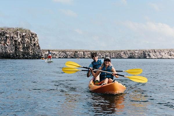 Origin's 15-Day Itinerary 'A+B' Day Three - Kayaking Excursion.