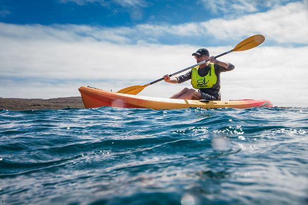 Origin's 15-Day Itinerary 'A+B' Day Twelve - Kayaking in the Galapagos.