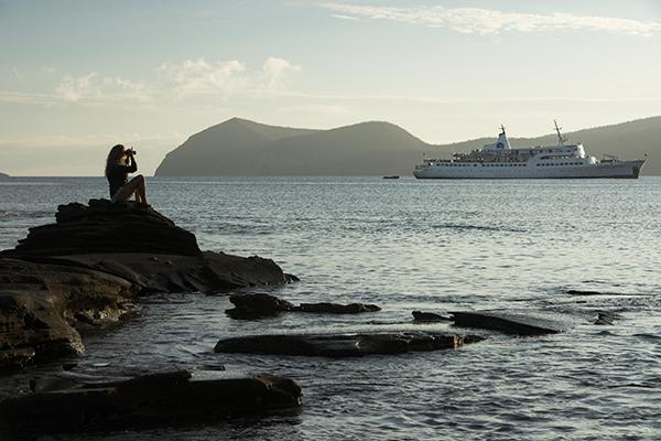 Coral I & II's 5-Day Cruise 'B' Itinerary Day Four - Exploring Santiago Island.