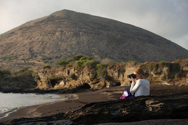 Stella Maris' 8-Day B Itinerary Day Three - Santiago Island.