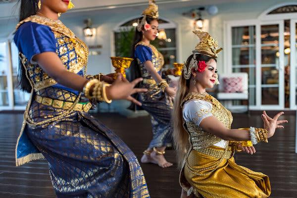 Mekong Navigator's 5-Day Upstream Itinerary Day One - Apsara Dance