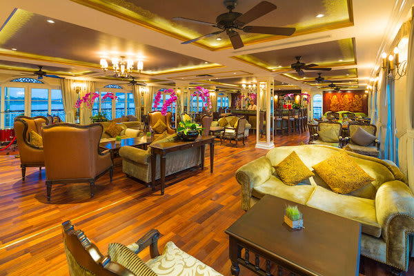 Mekong Navigator's 5-Day Upstream Itinerary Day Five - Lounge