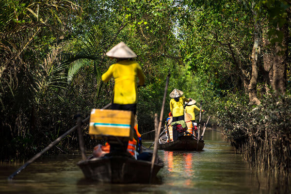 Mekong Navigator's 5-Day Downstream Itinerary Day Four - Mekong Delta Excursion
