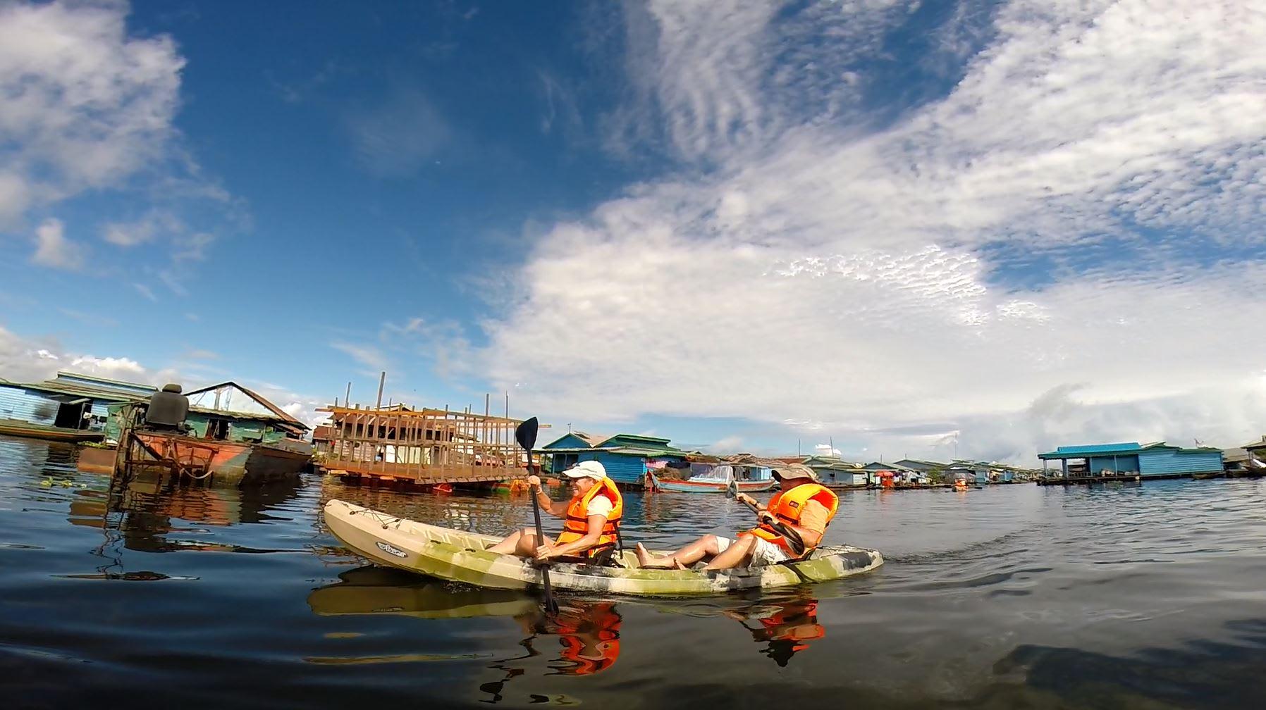 Aqua Mekong's 4-Day Mekong Discovery Upstream Day Three - Kayaking