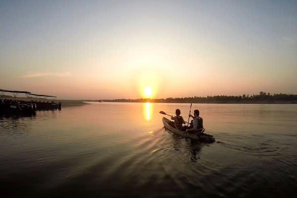 Aqua Mekong's 5-Day Mekong Explorer Upstream Day Five - Kayaking