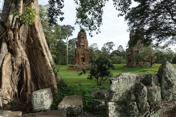 Jayavarman's Serenity Cruise Upstream Day Five - Ruined Wat in Siem Reap