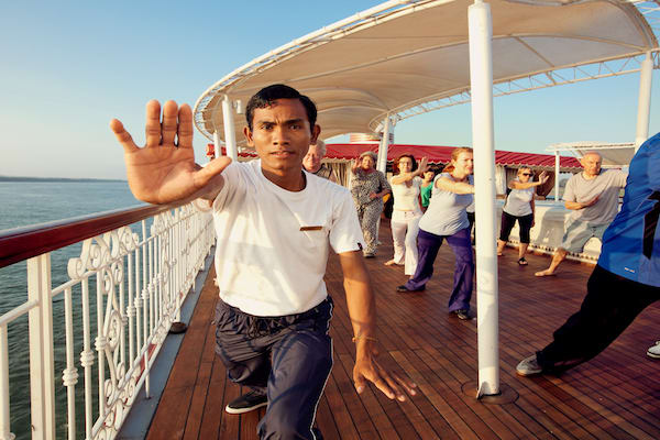 Jahan's Pearl of the Orient Downstream Day Four - Tai Chi Class