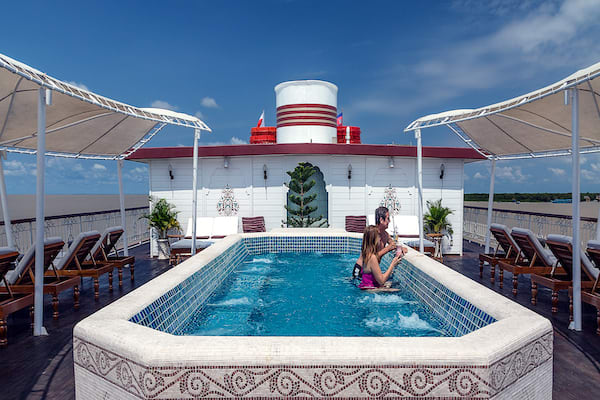 Jahan's Serenity Cruise Downstream Day Three - Pool & Sundeck