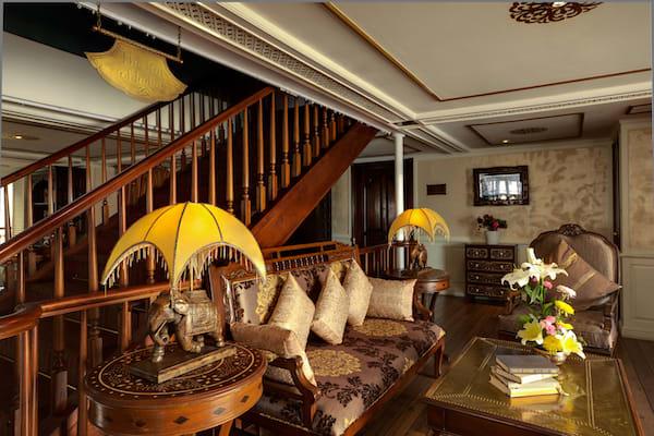 Jahan's Serenity Cruise Upstream Day Three - Raj of India Lobby Lounge