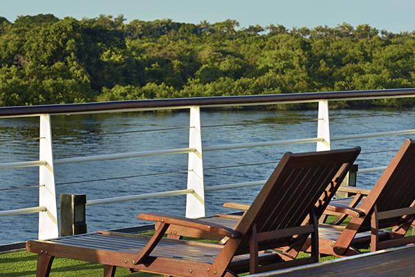Iberostar's 8-Day Cruise Itinerary Day Two - Upper Deck Views.