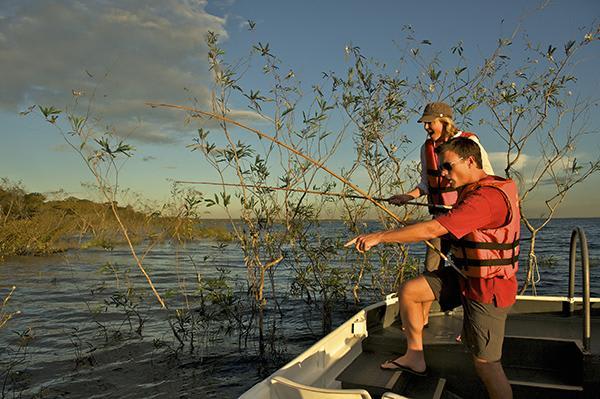 Iberostar's 8-Day Cruise Itinerary Day Six - Fishing for piranhas.