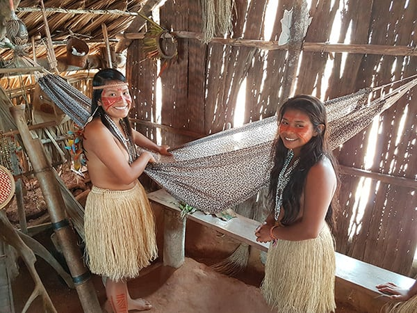 Acqua 5-Day Golden Waterfall Cruise Itinerary Day Four - Indigenous Village Visit.