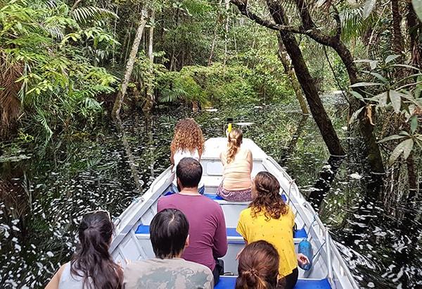 Acqua 7-Day Cruise Itinerary Day Three - Jungle Exploration Boat Ride.