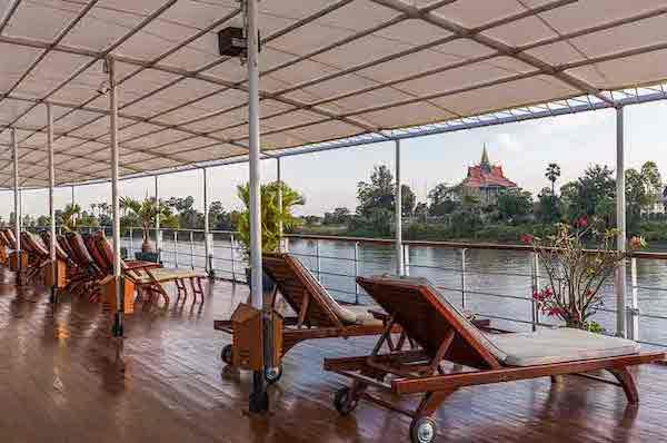 Mekong Pandaw's 8-Day Classic Mekong: Saigon - Siem Riep Day Six - Sundeck
