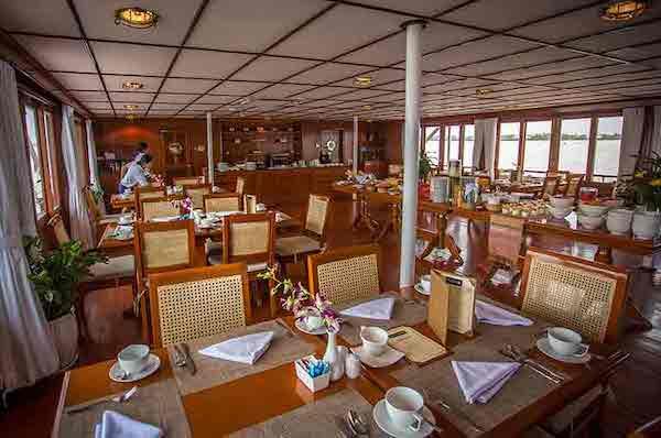 Mekong Pandaw's 8-Day Classic Mekong: Siem Reap - Siem Saigon Day Two - Restaurant On Board