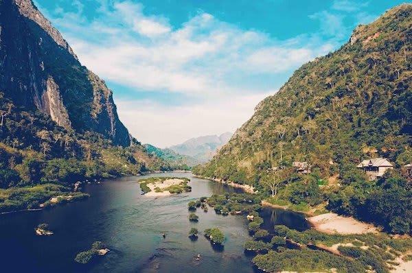 Anouvong's Golden Triangle Traverse Upstream Day Two - Upper Mekong
