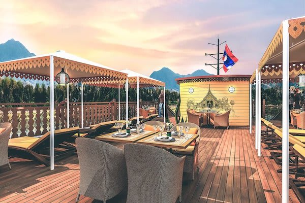 Anouvong's 8-Day Laotian Serendipity Day Two - Sundeck