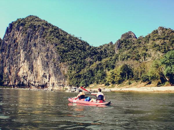 Anouvong's 8-Day Laotian Serendipity Day Five - Kayaking