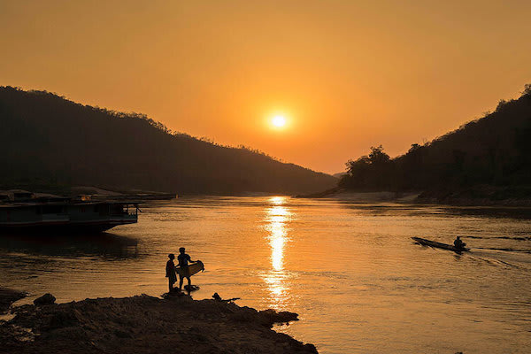 Gypsy's 3-Day Chiang Saen to Luang Prabang Day One - Sunset