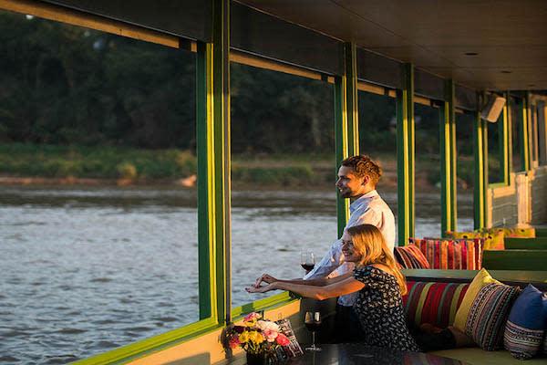 Gypsy's 4-Day Luang Prabang to Chiang Saen Day Two - Enjoying Sunset